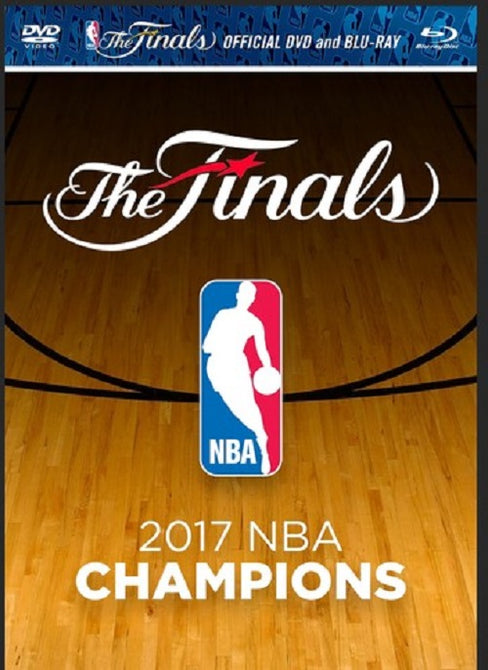 2016-17 NBA Champions 2016 17 Golden State Warriors New DVD + Blu-ray Region B