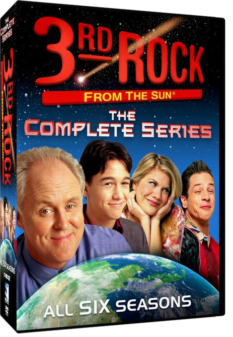 3rd Rock From the Sun The Complete collection Seasons 1-6 New DVD  Series