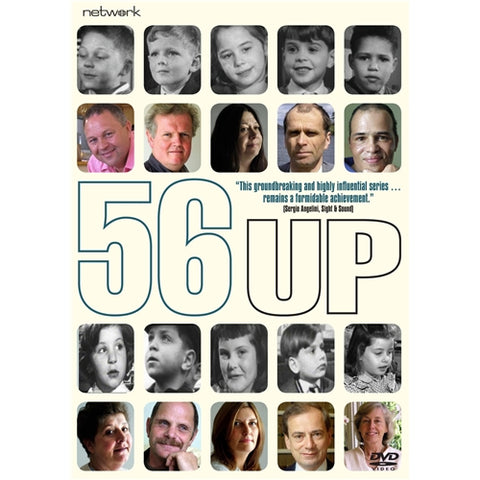 56 Up (7 Up Sequel) New DVD Region 4