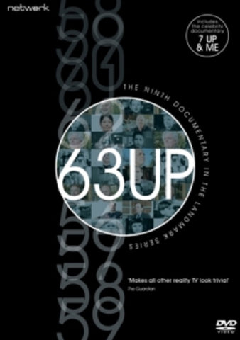 63 Up (Lynn Johnson Nicholas Hitchon Tony Walker) Sixty Three New DVD