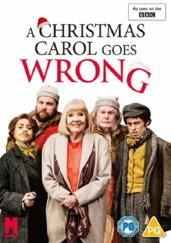 A Christmas Carol Goes Wrong (Henry Shields Jonathan Sayer) New Region 2 DVD