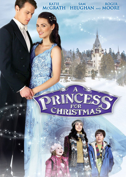 A Princess for Christmas (Katie McGrath Roger Moore) Region 1 New DVD