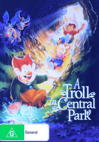 A Troll In Central Park  New DVD Region 4