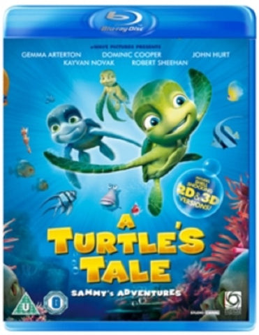 A Turtle's Tale Sammy's Adventures Turtles Sammys New 3D + 2D Region B Blu-ray