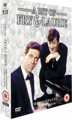 A Bit Of Fry And Laurie The Complete Collection Series 1 2 3 4 Region 4 New DVD