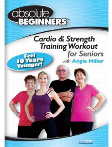 Absolute Beginners Cardio and Strength Training Workout for Seniors & Reg 4 DVD