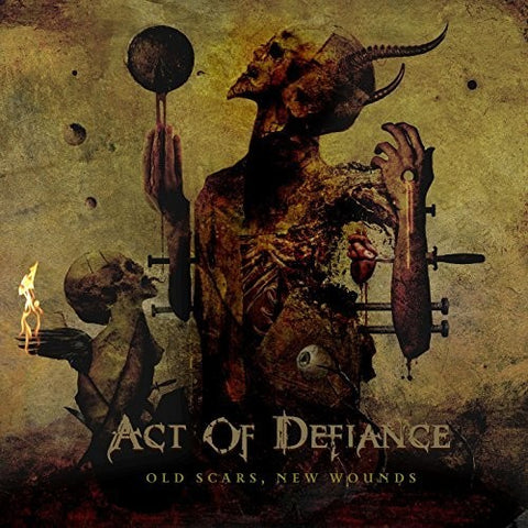 Act Of Defiance Old Scars New Wounds Vinyl Album LP New 2015 Debut