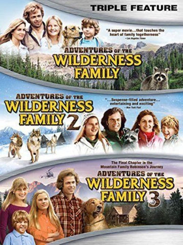Adventures of the Wilderness Family Triple Feature 1 2 3 New DVD Reg 1