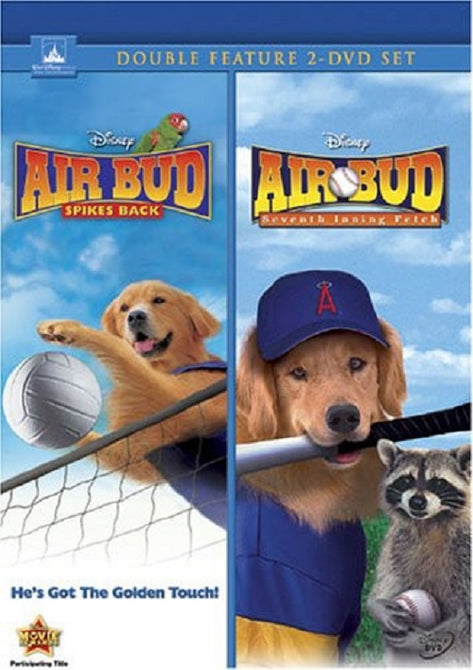 Air Bud Spikes Back and Air Bud Seventh Inning Fetch (Caitlin Wachs) New DVD