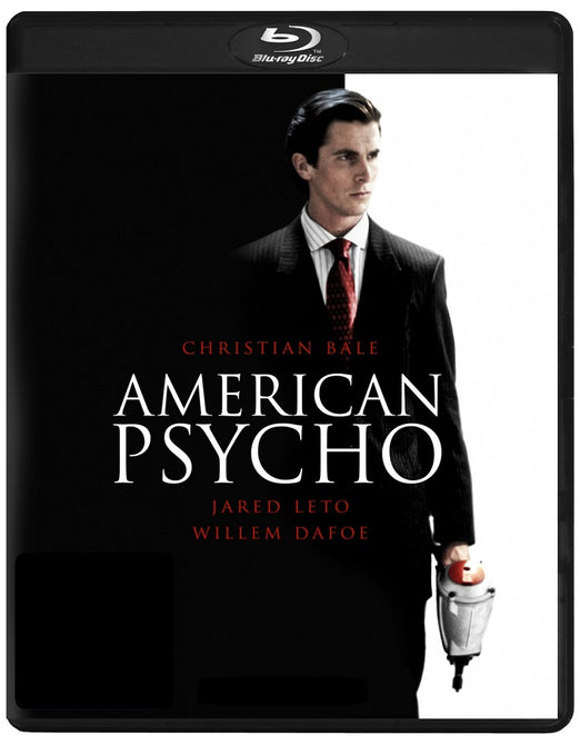 American Psycho (Christian Bale, Willem Dafoe, Jared Leto) New Region B Blu-ray