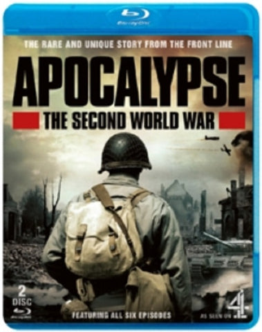Apocalypse The Second World War New Region B Blu-ray