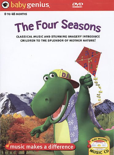 Baby Genius The Four Seasons New DVD Region 4