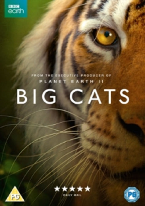 Big Cats (Bertie Carvel) BBC Complete Series New Region 4 DVD