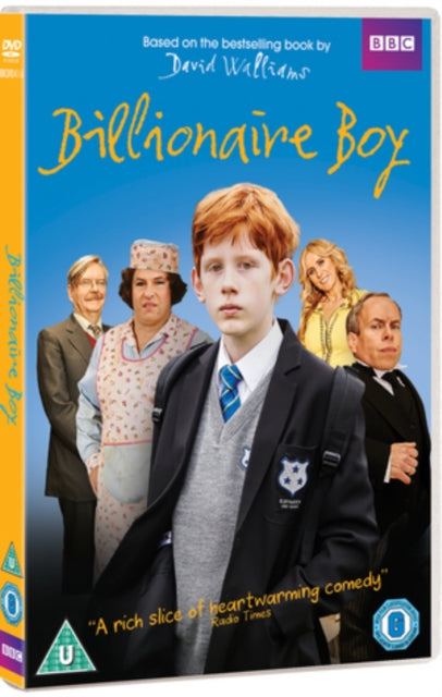 Billionaire Boy Region 4 DVD New (David Walliams Elliot Sprakes Catherine Tate)