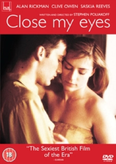 Close My Eyes (Alan Rickman, Clive Owen, Saskia Reeves) Region 2 DVD