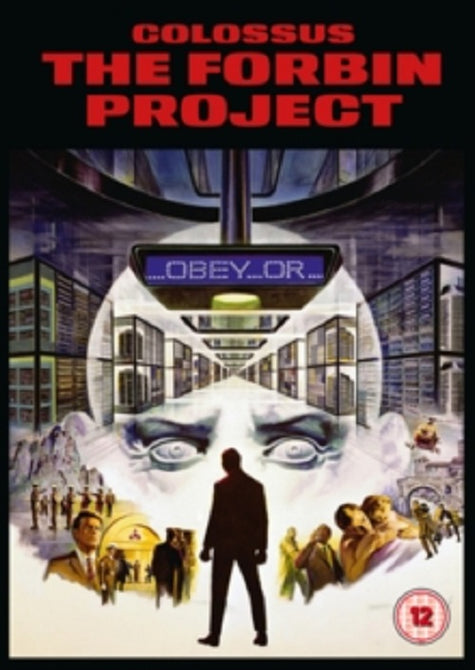 Colossus The Forbin Project (Eric Braeden, Susan Clark) New Region 2 DVD