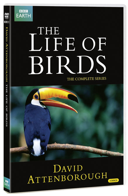 David Attenborough The Life of Birds BBC New Region 4 DVD
