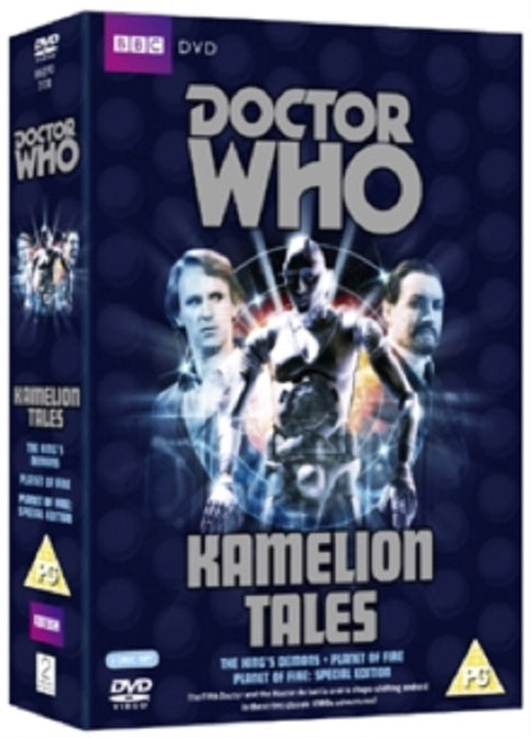 Doctor Who Kamelion Tales The King's Demons  Planet of Fire New Region 2 DVD