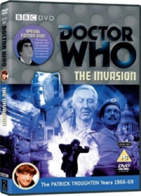Doctor Who The Invasion (Patrick Troughton, Kevin Stoney) New Region 4 DVD