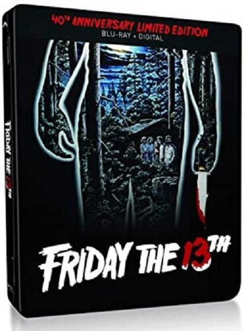 Friday the 13th 40th Anniversary Limited Edition New Blu-ray + Steelbook
