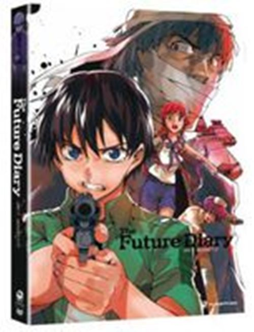 Future Diary Part 1 Collection 1 One New DVD Region 1