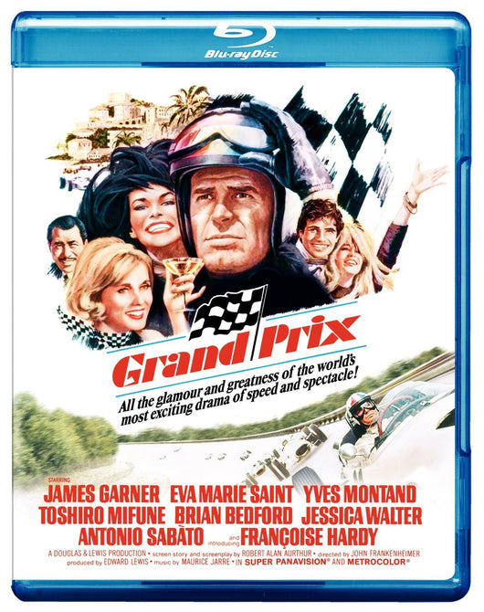Grand Prix (James Garner) Blu-ray Reg B