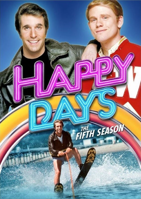 Happy Days Season 5 Fifth TV Series Region 1 New DVD (4 Discs)