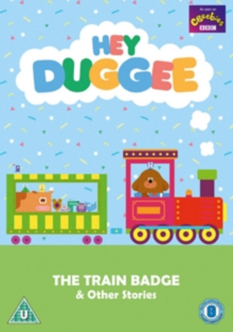 Hey Duggee The Train Badge and Other Stories (Sander Jones) Region 4  DVD