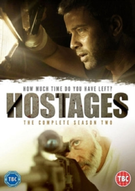 Hostages The Complete Season 2 Series Two Region 2 DVD Clearance
