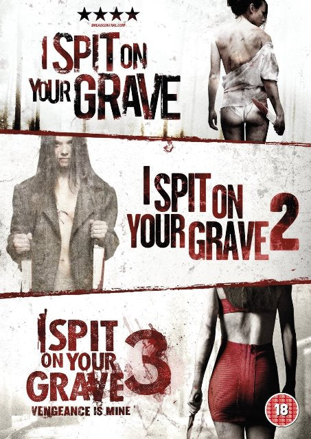 I Spit On Your Grave 1 2 3 Triple Collection DVD New (3 Discs) Trilogy