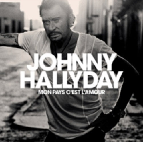 Johnny Hallyday Mon Pays C'est L'Amour + Book New CD Clearance