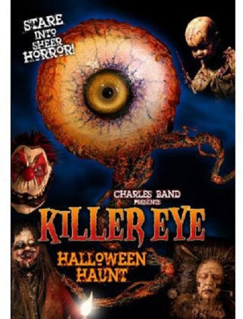 Killer Eye Halloween Haunt (Erica Rhodes, Olivia Alexander) New Region 4 DVD