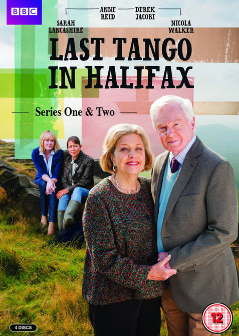 Last Tango in Halifax Season 1 2 Series One Two (Derek Jacobi) New Region 4 DVD