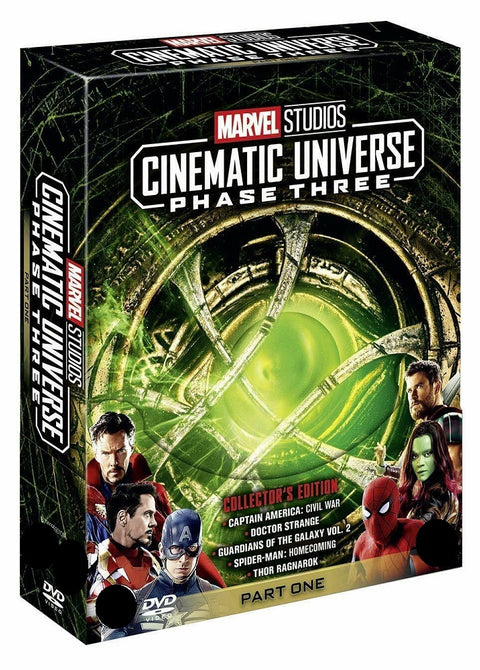 Marvel Studios Cinematic Universe Phase Three Part One 3 1 Collectors Ed Blu-ray