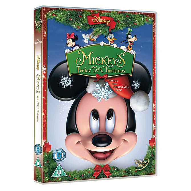 Mickey's Twice Upon A Christmas (Disney) Mickeys New DVD Region 4