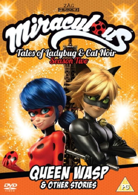 Miraculous Tales of Ladybug Cat Noir Queen Wasp Other Stories Season 2 Vol 4 DVD