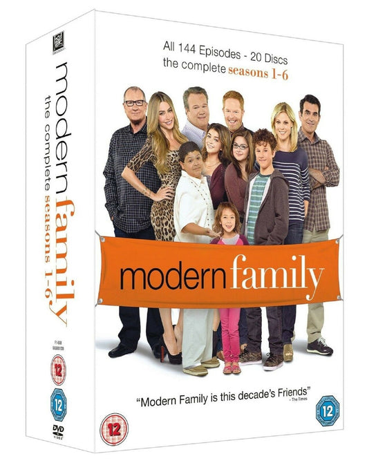 Modern Family The Complete Season 1 2 3 4 5 6 Ed O'Neill 1-6 New Region 4 DVD