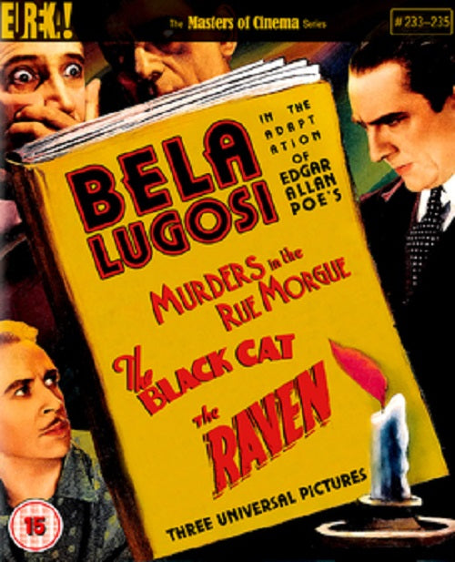 Murders In The Rue Morgue The Black Cat The Raven Limited Edition Reg B Blu-ray