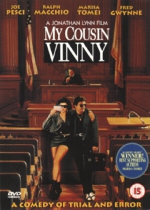 My Cousin Vinny (Joe Pesci, Fred Gwynne, Marisa Tomei) New Region 4 DVD