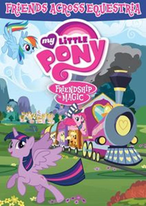 My Little Pony Friendship is Magic Friends Across Equestria New DVD Clearance