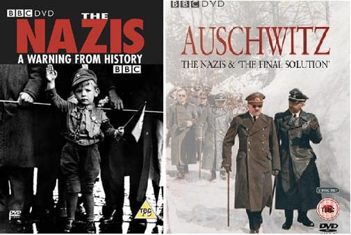 Nazis a Warning From History and Auschwitz Nazis the Final Solution New DVD R4