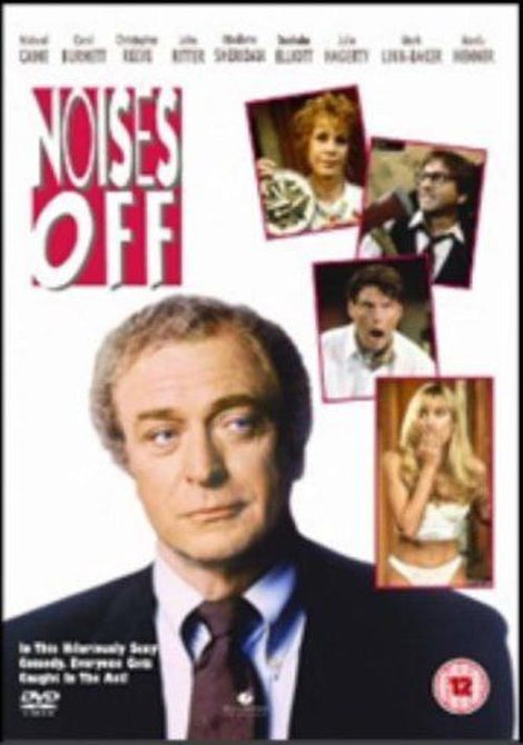 Noises Off (Michael Caine Carol Burnett) Region 4 New DVD