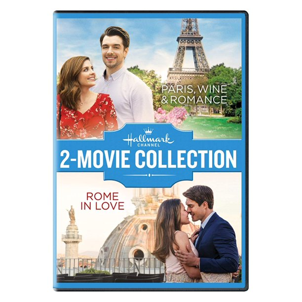 Hallmark 2 Movie Collection Paris Wine And Romance + Rome In Love Two & New DVD