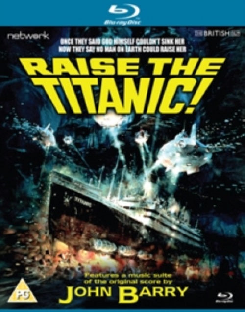 Raise the Titanic (David Selby, Anne Archer, Alec Guinness) New Region B Blu-ray