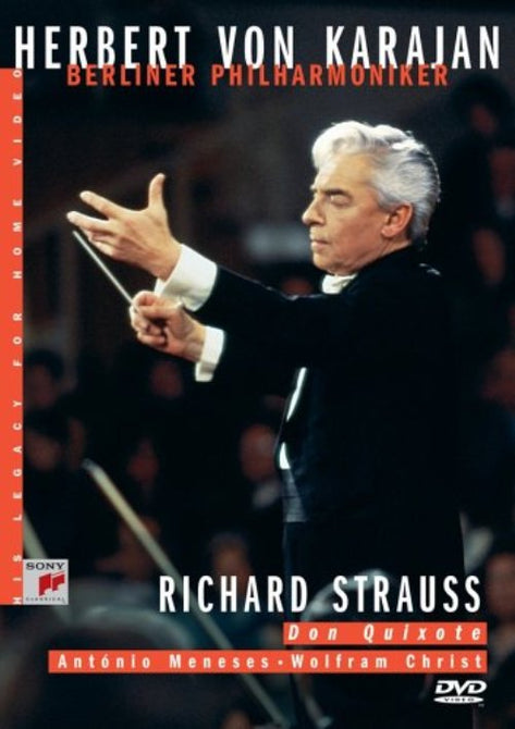 Herbert Von Karajan Berliner Philarmoniker Richard Strauss Don Quixote DVD R4