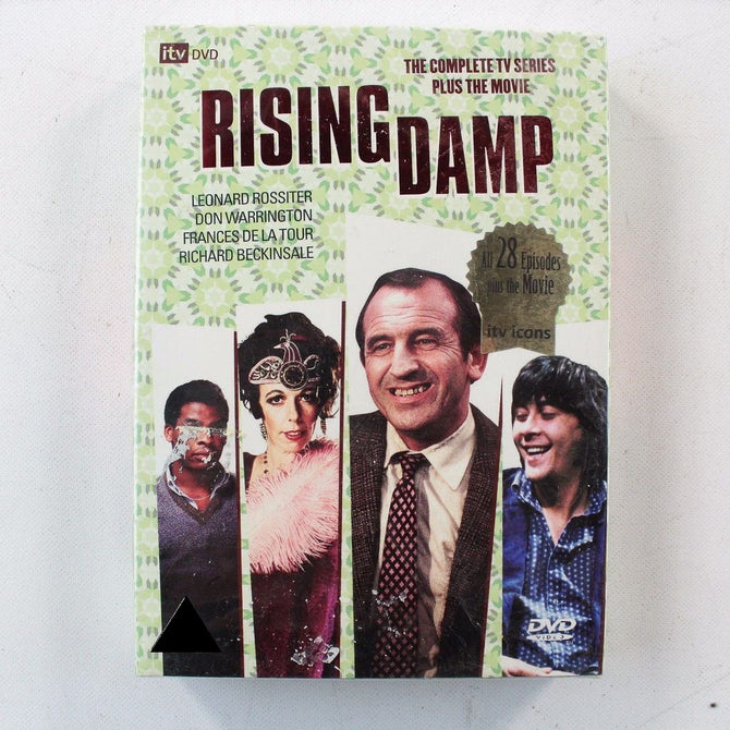 Rising Damp The Complete Series 1 2 3 4 + Movie Region 2 DVD Box Set