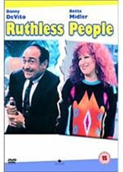Ruthless People (Danny De Vito Bette Midler Judge Reinhold) New DVD Region 4