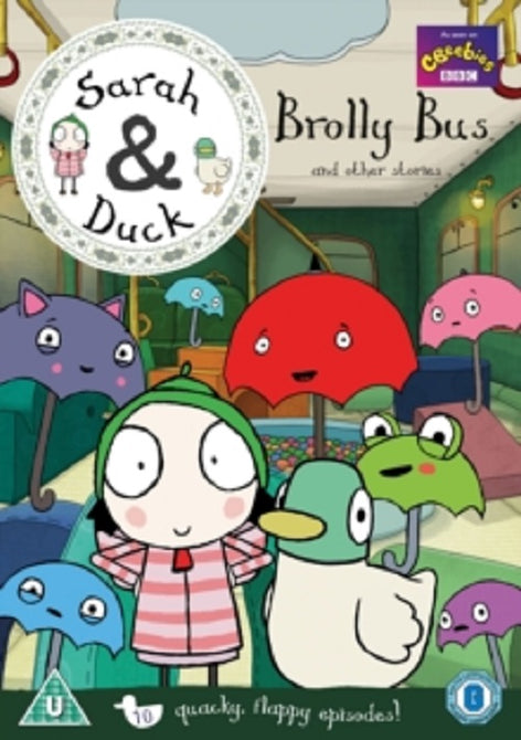 Sarah and Duck Brolly Bus and Other Stories & (Tasha Lawrence) New Region 4 DVD