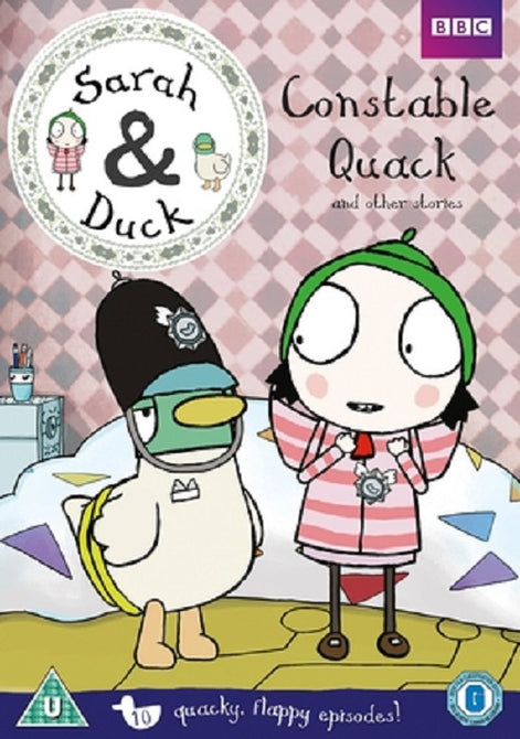 Sarah & Duck Constable Quack and Other Stories (Tasha Lawrence) And New DVD