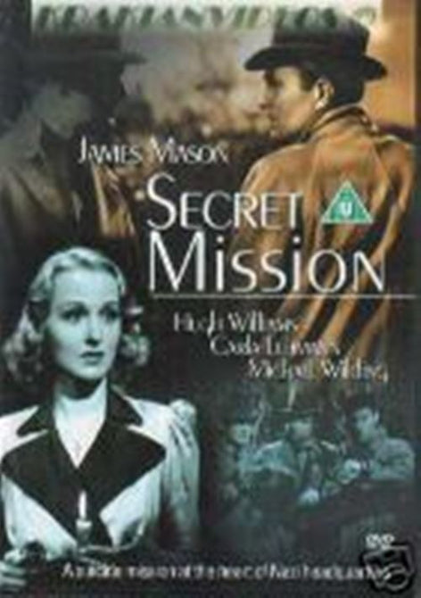 Secret Mission (James Mason) New/Sealed DVD Region 4 Clearance